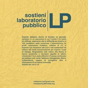 sostieni LP